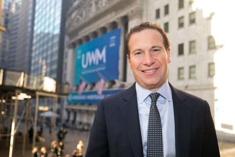 President and CEO of United Wholesale Mortgage, Mat Ishbia (Photo: Business Wire)