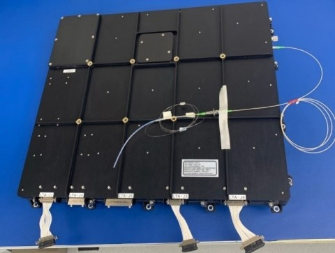 The CACI laser transmitter, shown here, will be used for the first laser communications demonstration in deep space and will be the longest laser communication link ever demonstrated. (Photo: Business Wire)