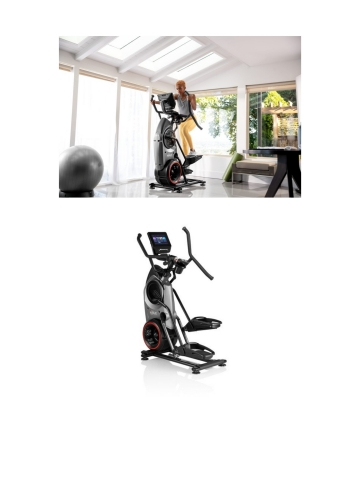"Next generation Bowflex® Max Trainer® M9 offers a 10"" HD touch screen that integrates the JRNY® digital fitness platform — offering curated workouts and entertainment options that stream while being coached. (Photo: Business Wire)"