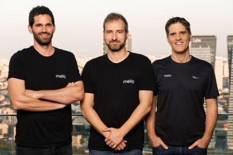 Left to right: COO Ziv Paz, CEO Matan Bar, CTO Ilan Atias (Photo: Business Wire)