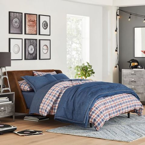 The first-ever Wrangler® x Pottery Barn Teen Collection marks Wrangler's reentry into the home design space with on trend textiles, furniture and decorative accessories. (Photo: Business Wire)