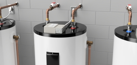 Armada Power's LCS2400 Grid Optimizer transforms resistive electric water heaters into sub-second responding energy storage assets that maintain access to hot water. (Photo: Business Wire)