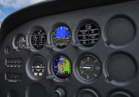 The GI 275 electronic flight instrument is a reliable solution that will modernize thousands of aging cockpits. (Photo: Business Wire)
