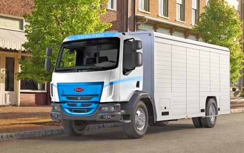 Peterbilt 220EV Battery Electric Truck (Photo: Business Wire)