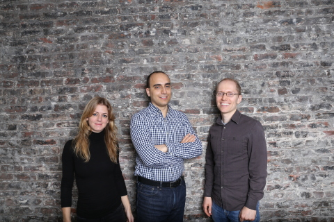 Pilot Co-Founders met at MIT Computer Club and have worked together for over 10 years on three successful startups. Left to right: Jessica McKellar, Waseem Daher, Jeff Arnold (Photo: Business Wire)