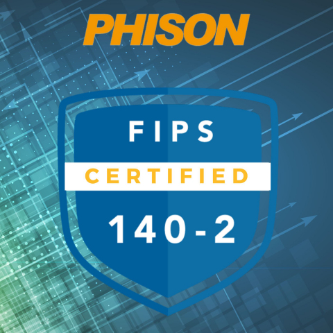 Phison offering SSD solutions with FIPS 140-2 certification. (Graphic: Phison Electronics)
