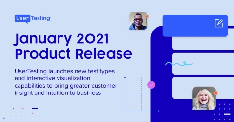 UserTesting January Product Release 2021 (Graphic: Business Wire)
