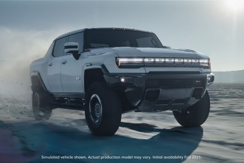 Barrett-Jackson and General Motors announced today the highly coveted 2022 GMC HUMMER EV Edition VIN 001 and first retail production 2020 Mid-Engine C8 Chevrolet Corvette convertible will cross the auction block during Barrett-Jackson's flagship Scottsdale Auction at WestWorld of Scottsdale. (Photo: Business Wire)