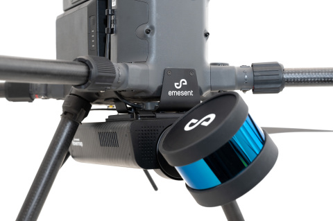 Emesent's Hovermap, equipped with a Velodyne Puck LITE™ sensor, is easily deployed, and able to switch between drone-mounted, handheld, vehicles and other data capture techniques. (Photo: Emesent)