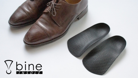 bine Insoles | Change the way you walk with just 15g! (Graphic: Business Wire)