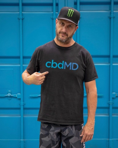 cbdMD Extends Sponsorship With Professional Rally Driver Megastar Ken Block (Photo: Business Wire)