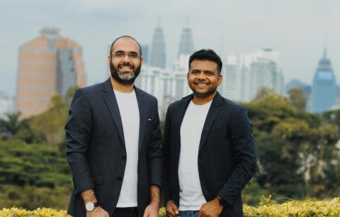 Kshitij Minglani, CEO (L) and Nattu Adnan, CTO (R) (Photo: Business Wire)