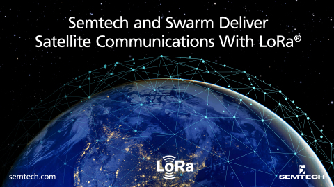 Swarm integrates Semtech's LoRa in its satellites (Graphic: Business Wire)