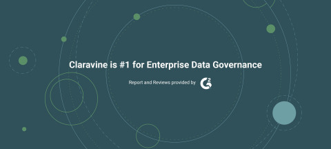 Claravine is #1 for Enterprise Data Governance in the G2 Enterprise Data Governance Winter 2020 Grid (Graphic: Business Wire)