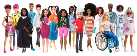 Mattel, Inc. announced that its iconic Barbie® brand has been named the 2020 top global toy property of the year by the NPD Group, a leading global information company. (Photo: Business Wire)