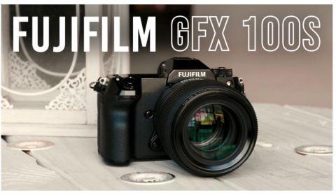 Fujifilm GFX 100S Mirrorless Medium Format Camera and GF 80mm f/1.7 Lens (Photo: Business Wire)