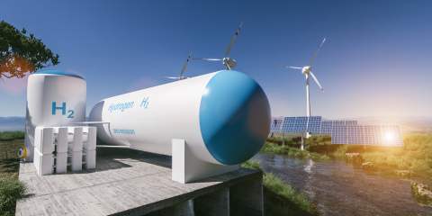 Hydrogen-fuel cell (Photo: Business Wire)