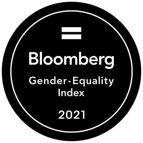Ventas Included in 2021 Bloomberg Gender-Equality Index (Graphic: Business Wire)