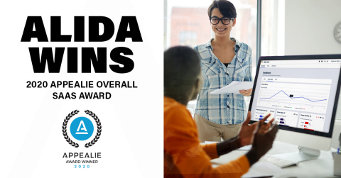 Alida Wins 2020 APPEALIE Overall SaaS Award (Photo: Business Wire)