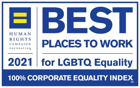 Cubic Corporation earns top marks in Human Rights Campaign's 2021 Corporate Equality Index. (Graphic: Business Wire)
