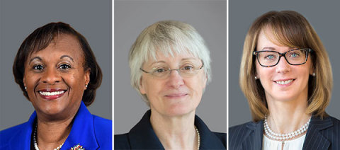 Exactech's New Board Directors (from left to right): Gwendolyn Bingham, Karen Golz and Diana Nole (Photo: Business Wire)