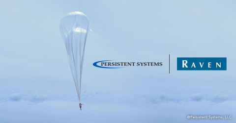 Persistent Systems + Raven Aerostar (Photo: Business Wire)