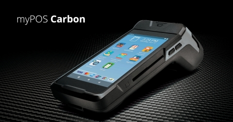 The new myPOS Carbon combines the intelligence of Android 9.0 with dust, water and shock resistance at an unbeatable price. (Photo: Business Wire)