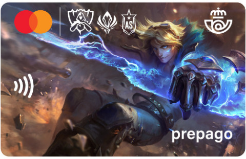 PFS Correos Prepago League of Legends' digital payment product. (Photo: Business Wire)