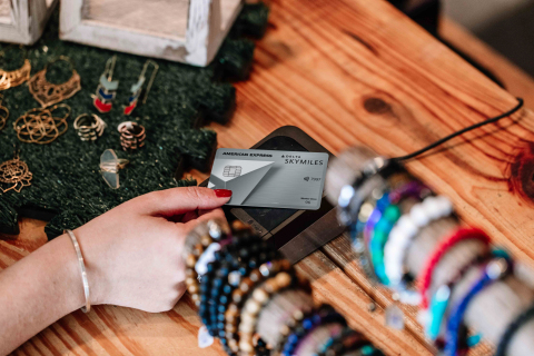 Delta SkyMiles Platinum American Express Card (Photo: Business Wire)