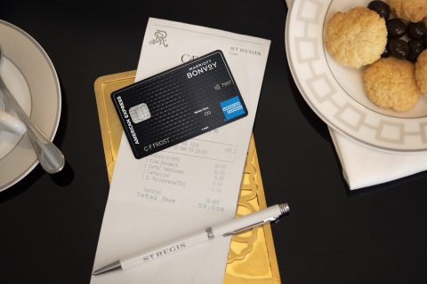Marriott Bonvoy Brilliant American Express Card (Photo: Business Wire)
