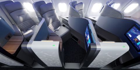 Inspired by the popularity of the four private suites in its current Mint configuration, JetBlue's transatlantic Mint will offer more privacy with 24 individual suites.
