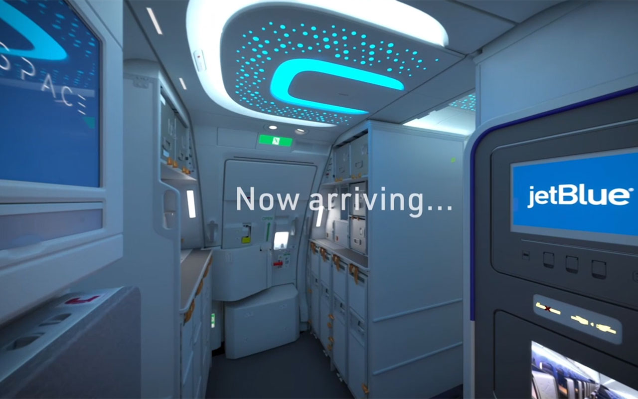 Welcome aboard JetBlue's reimagined Mint.