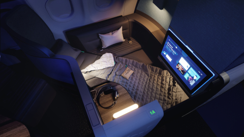 JetBlue partnered with Tuft & Needle to shape the entire Mint sleep experience onboard.