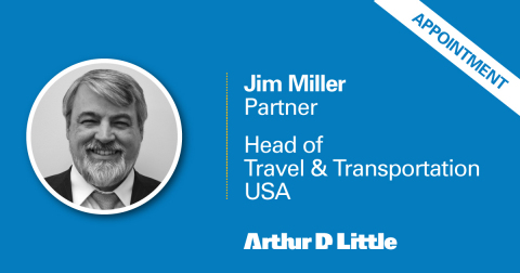 Jim Miller has been appointed Partner at Arthur D. Little. (Photo: Business Wire)