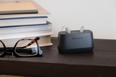 ReSound Key_charger (Photo: Business Wire)