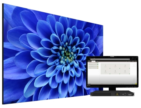 Planar announces expansion of popular Planar TVF Series line of LED video wall displays (Graphic: Business Wire)
