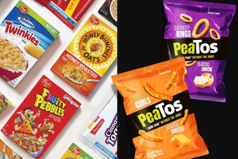 Cereal Giant POST invests in PeaTos revolutionary snack brand. (Photo: Business Wire)