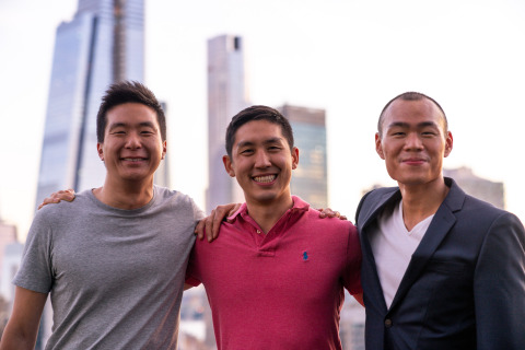 Valon founders (L to R): Jon Hsu, Andrew Wang, and Eric Chiang. (Photo: Business Wire)