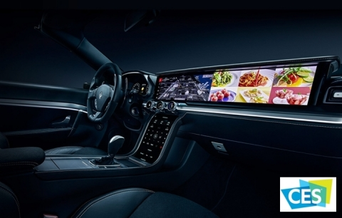Source: CES Stock 2021 Stock Photo of Infotainment Console