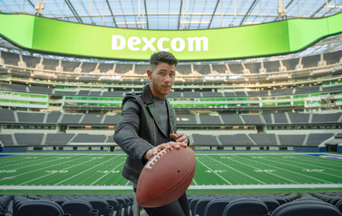Dexcom and Nick Jonas unveil first-ever Super Bowl commercial, calling for better care for people with diabetes. Photo courtesy of Dexcom. (Photo: Business Wire)