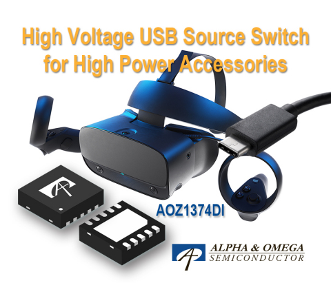 High Voltage USB Source Switch for High Power Accessories (Photo: Business Wire)