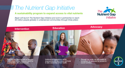 Overview of The Nutrient Gap Initiative (Graphic: Business Wire)
