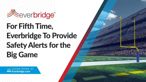 City of Tampa Deploys Everbridge to Help Keep Residents and Attendees Safe During This Sunday's U.S. Football Championship (Photo: Business Wire)