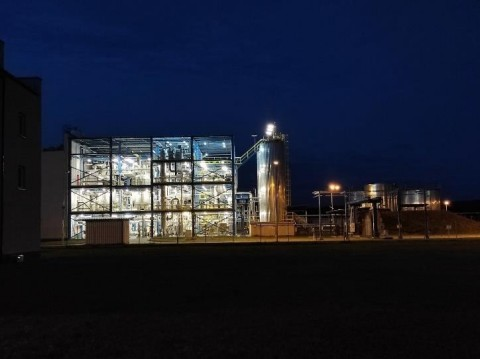 Ekobenz' state of the art research facility in Bogumiłów, Poland (Photo: Business Wire)