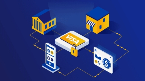 Visa taps First Boulevard, neobank focused on Black community financial empowerment, as partner for new crypto API pilot program, anticipated to launch later this year. (Graphic: Business Wire)