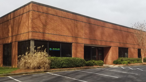 Anue Water relocates to larger manufacturing and HQ facilities in Alpharetta, Ga., due to growing municipal and industrial demand for wastewater, odor, FOG, and corrosion control systems. (Photo: Business Wire)