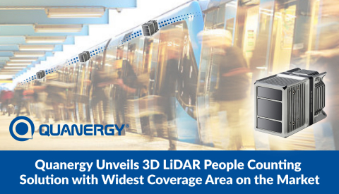 Quanergy Unveils 3D LiDAR People Counting Solution with Widest Coverage Area on the Market (Photo: Business Wire)