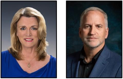 Deborah Lee James and Robert Cardillo (Photo: Business Wire)