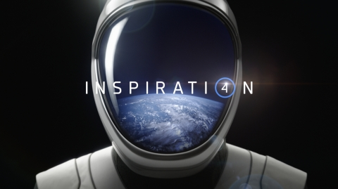 The Inspiration4 Super Bowl commercial ends with an invitation for viewers to go to space, and to visit the mission's website, www.inspiration4.com, to learn more. (Photo: Business Wire)