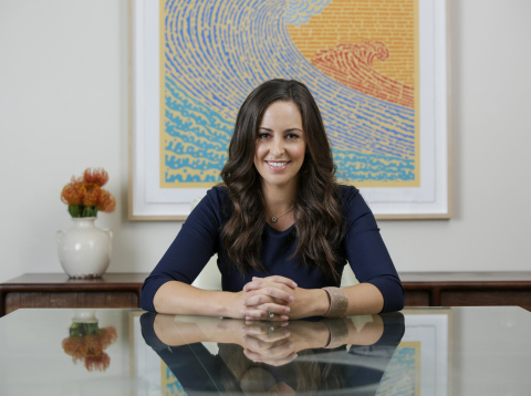 Jesse Draper Closes $21 Million Fund to Invest in the Next Generation of Billion Dollar Businesses Run by Women. (Photo: Business Wire)